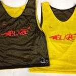 Blaze Lacrosse Pinnies