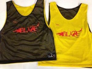 Blaze Lacrosse Pinnies