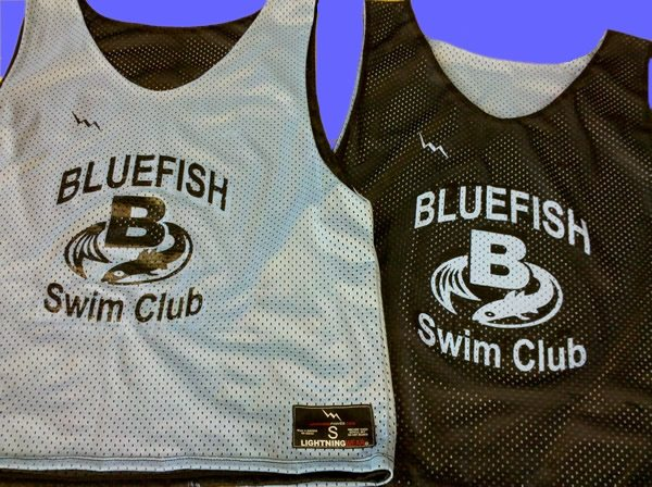 bluefish swim pinnies