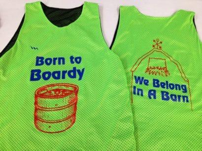 born to bordy pinnies