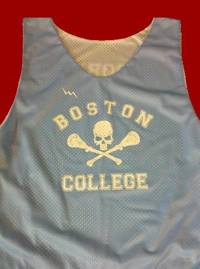 boston college pinnies