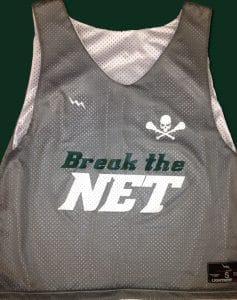 Break Net Lacrosse Pinnies