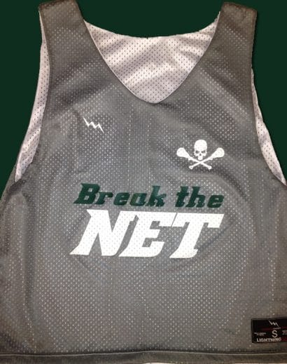 break the net pinnies