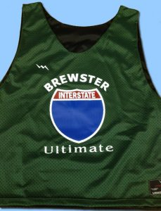 Brewster Ultimate Frisbee Pinnies