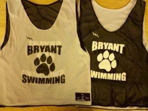 bryant swimming pinnies