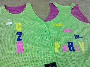 c2b party pinnies