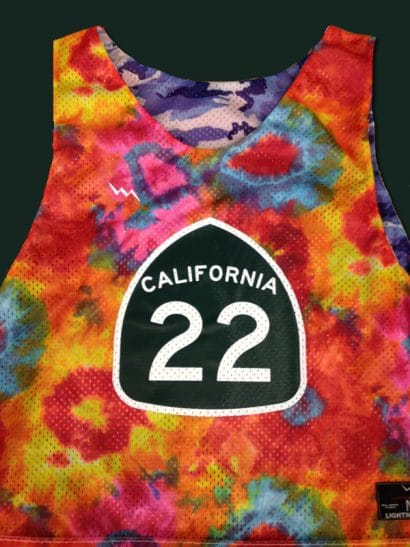 california 22 pinnies
