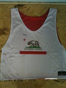 California Bear Lacrosse Pinnies