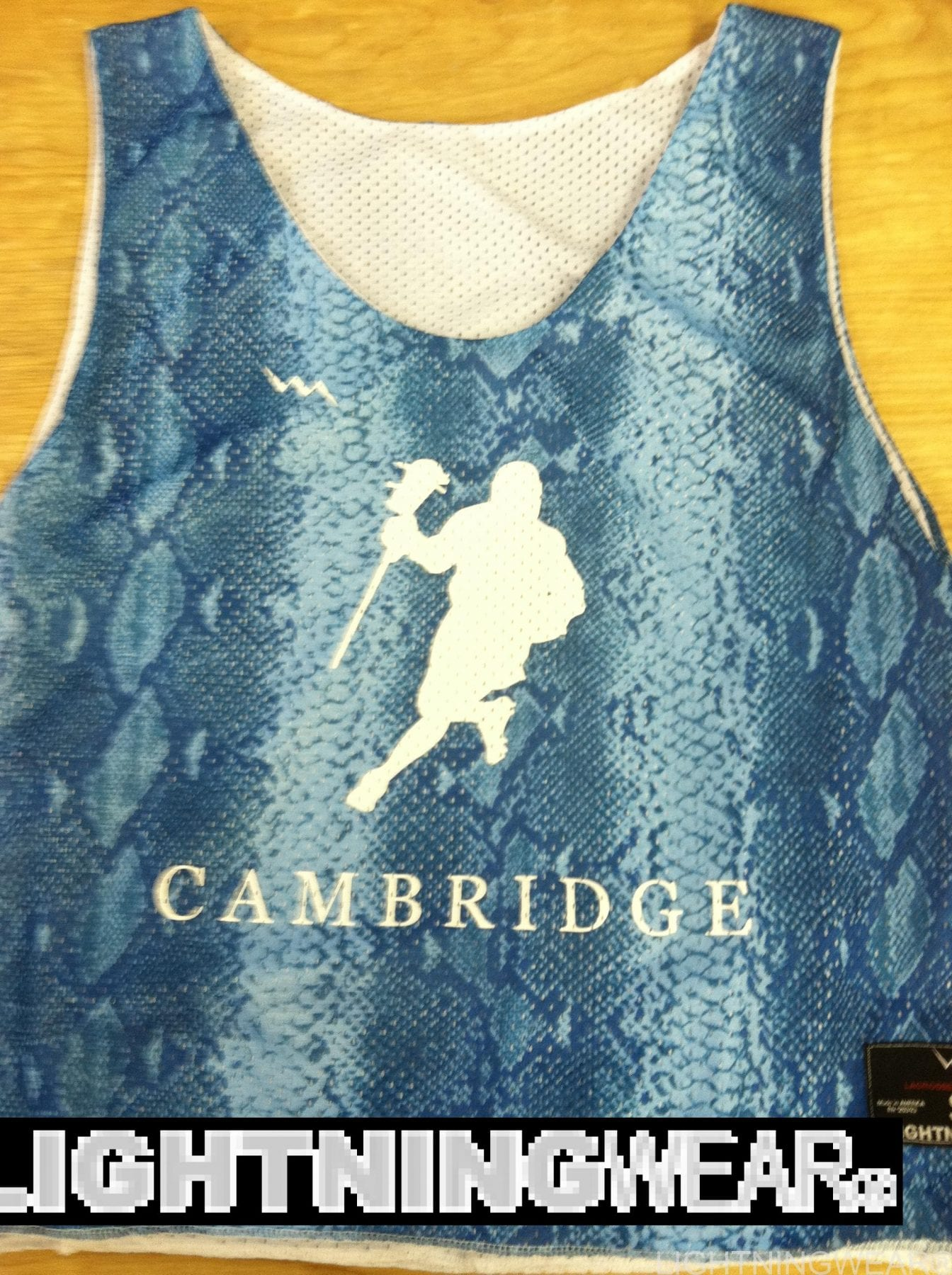 cambridge lacrosse pinnies