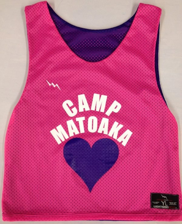 camp matoaka pinnies