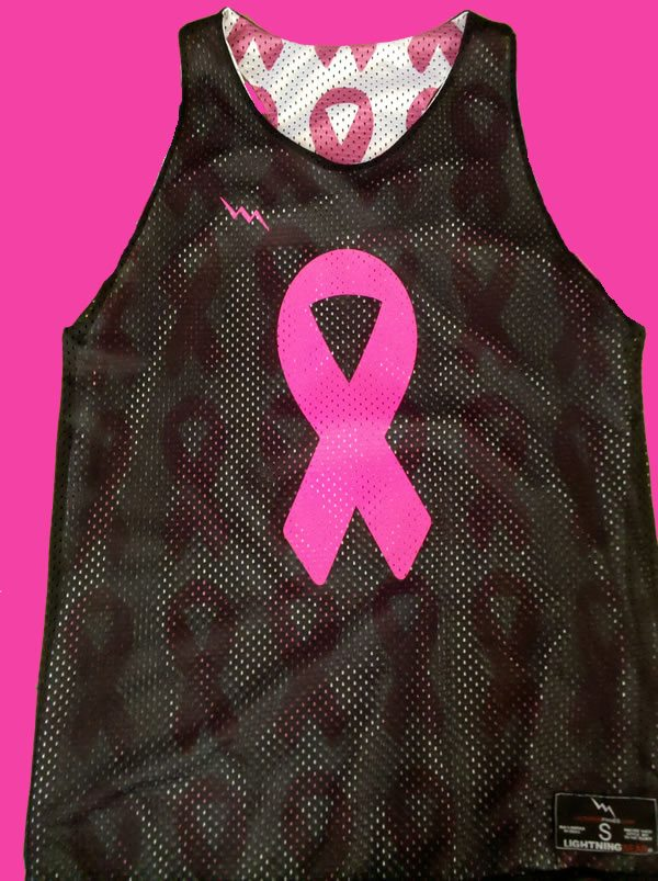 cancer ribbon pinnies