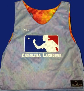 carolina lacrosse pinnies