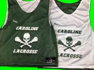 caroline lacrosse pinnies
