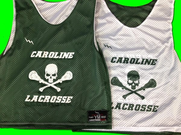 caroline lacrosse pinnies