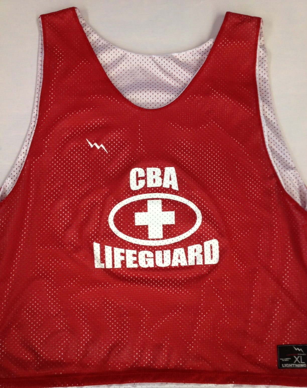 cba lifeguard pinnies