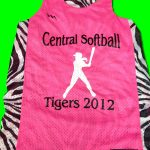 Central Softball Pinnies