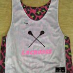 Cheetah Lacrosse Pinnies