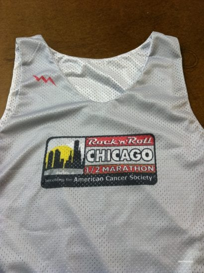 chicago marathon pinnies