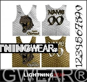 sublimated reversible pinnie