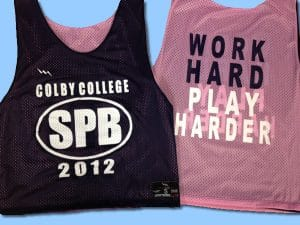 Colby College SPB Pinnies