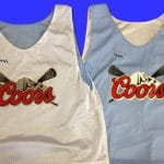 Coors Light Lacrosse Jerseys