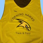 Corning Track and Field Pinnies – Corning Track and Field Reversible Jerseys – Corning New York Pinnies