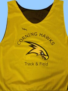 Corning Track Field Pinnies