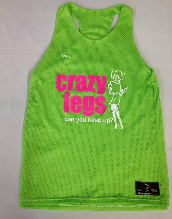 crazy legs pinnies