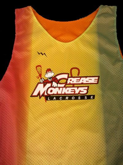 crease monkeys lacrosse pinnies