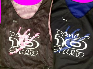 dance 10 studio pinnies