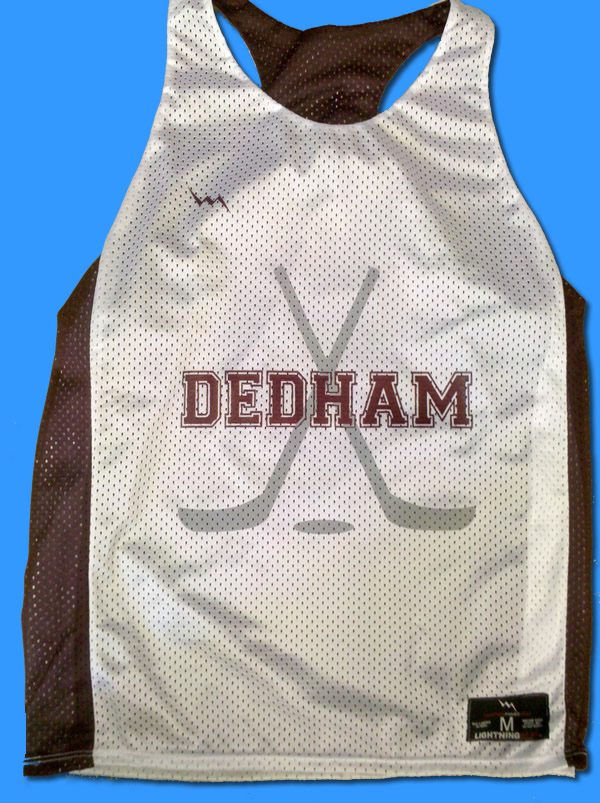 dedham field hockey pinnies