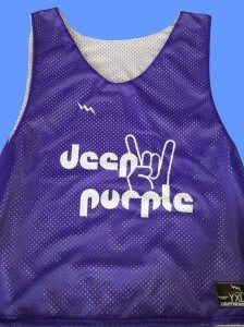 deep purple lax pinnies