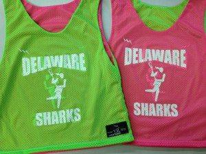 delaware sharks pinnies