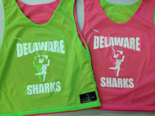 delaware sharks pinnies