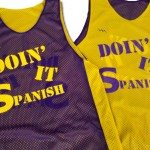 Doin It Spanish Basketball Pinnies