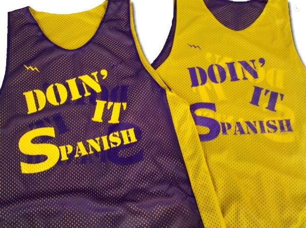 doin it spanish pinnies