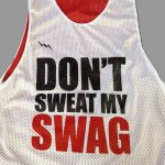 Red Basketball Pinnies