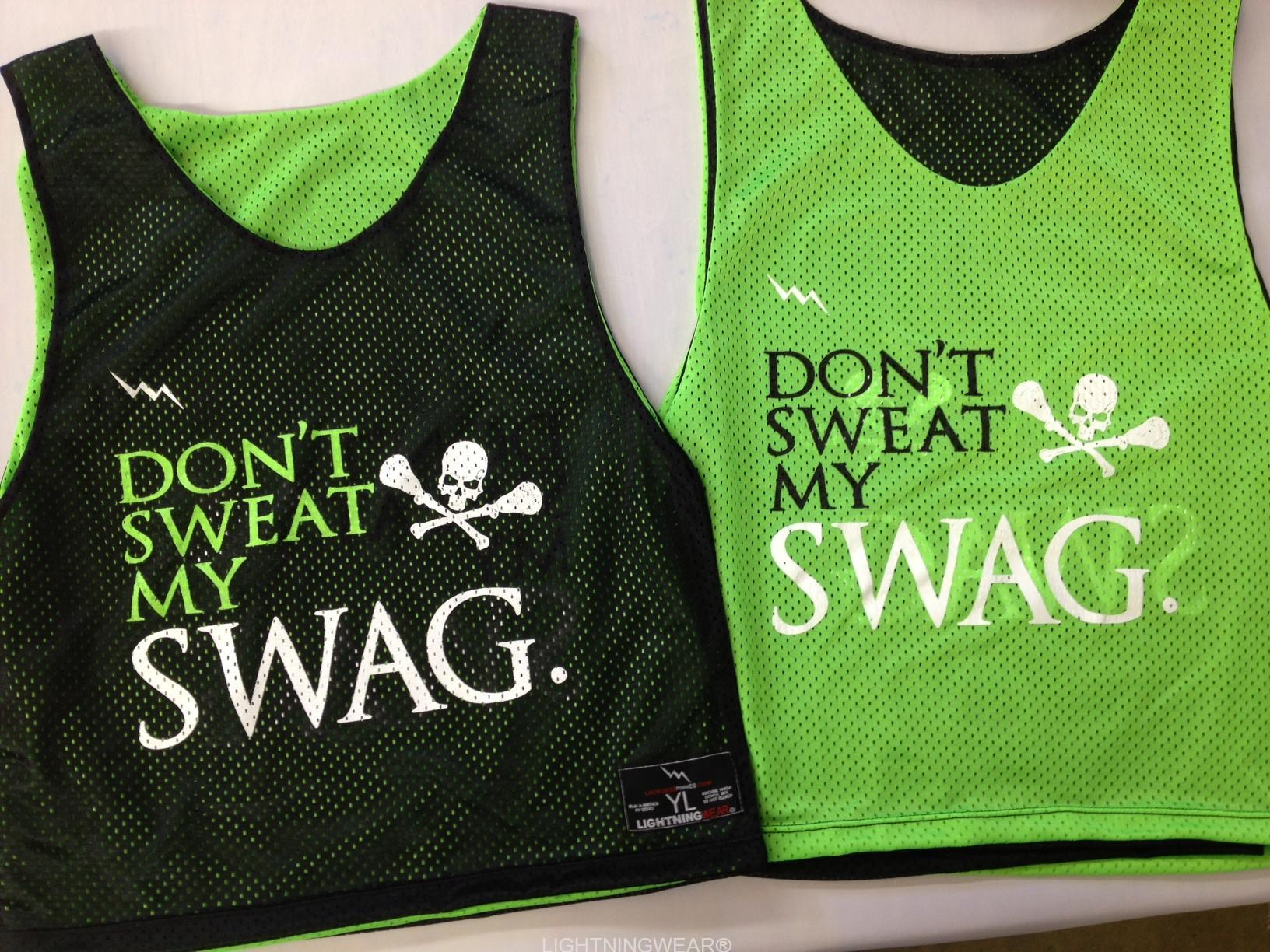 dont sweat my swag pinnies