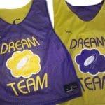 Dream Team Ultimate Frisbee Pinnies