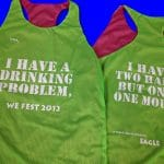 We Fest Pinnies