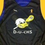 Ducks Lacrosse Pinnies