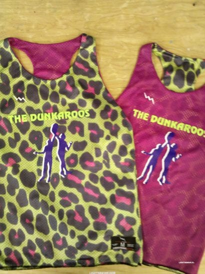 dunkaroos pinnies - womens basketball pinnies