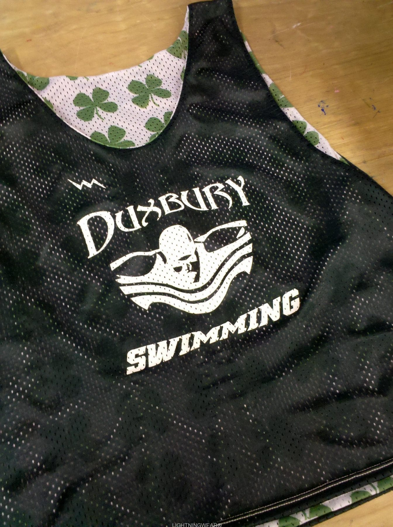 duxbury swimming pinnies