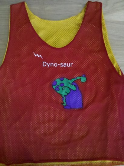 dyno saur pinnies