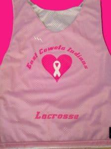 Pink Lacrosse Pinnies