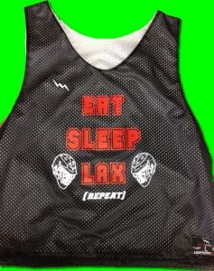 eat sleep lax pinnies
