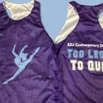 ESU Contemporary Dancers Pinnies