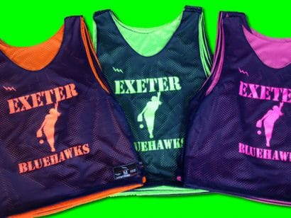 exeter softball pinnies