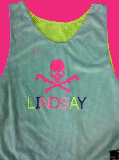 field hockey pinnies