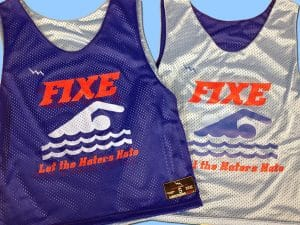 fixe swimming pinnies